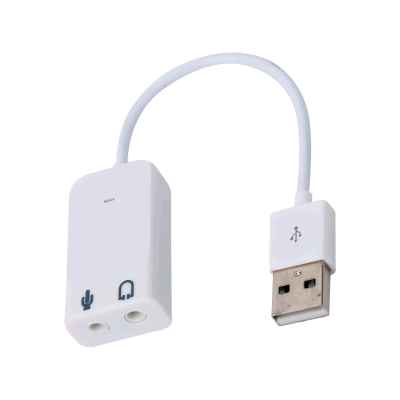 USB Audio Adapter for the Raspberry Pi