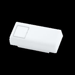 غطاء أبيض لمدخل USB و HDMI لعلبة حماية راسبيري باي - Thumbnail