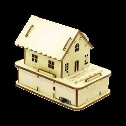 Stemist - Wooden RGB House