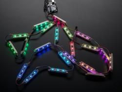 Adafruit - WS2801 75 mm 12V Dijital RGB LED Çubuk 21'li