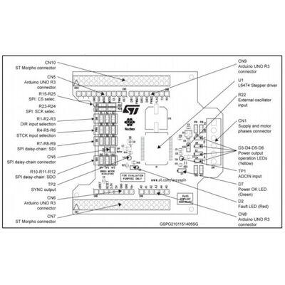 X-NUCLEO-IHM01A1 Stepper Motor Driver
