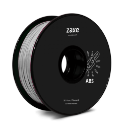 Zaxe - Zaxe ABS Filament Gümüş
