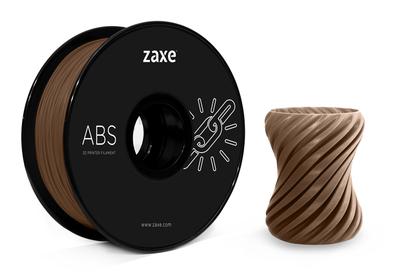 Zaxe Filament مادة طباعة 3D نوع ABS لون شوكولا