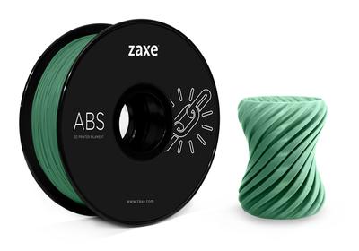 Zaxe Filament مادة طباعة 3D نوع ABS لون أخضر غامق