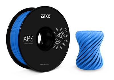 Zaxe Filament مادة طباعة 3D نوع ABS لون أزرق فضائي