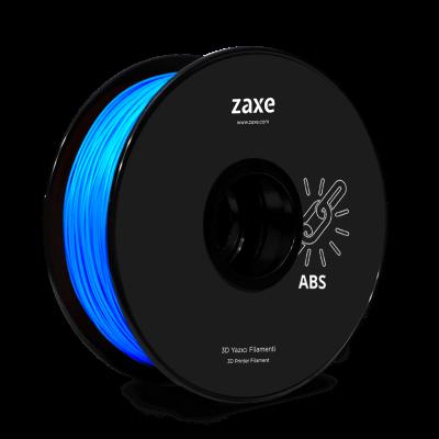 Zaxe Filament مادة طباعة 3D نوع ABS لون أزرق لامع