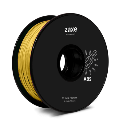 Zaxe Filament مادة طباعة 3D نوع ABS لون ذهبي