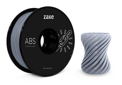 Zaxe Filament مادة طباعة 3D نوع ABS رمادي