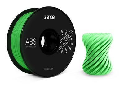 Zaxe Filament مادة طباعة 3D نوع ABS لون أخضر