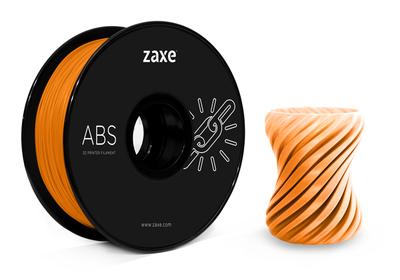 Zaxe Filament مادة طباعة 3D نوع ABS برتقالي