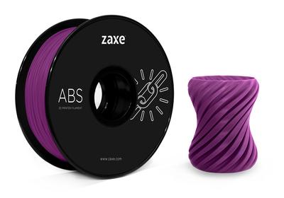 Zaxe Filament مادة طباعة 3D نوع ABS لون بنفسجي