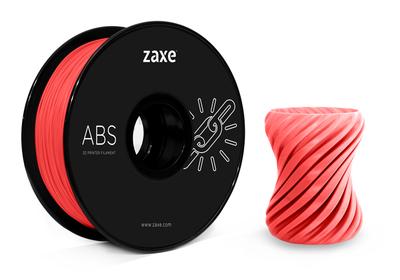 Zaxe Filament مادة طباعة 3D نوع ABS أحمر
