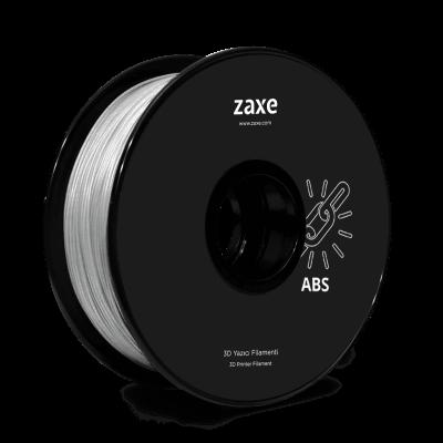 Zaxe Filament مادة طباعة 3D نوع ABS لون شفاف