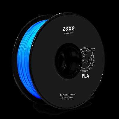 Zaxe Filament مادة طباعة 3D نوع PLA لون أزرق لامع