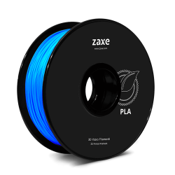 Zaxe - Zaxe Filament مادة طباعة 3D نوع PLA لون أزرق لامع