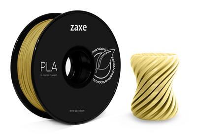 Zaxe Filament مادة طباعة 3D نوع PLA لون ذهبي