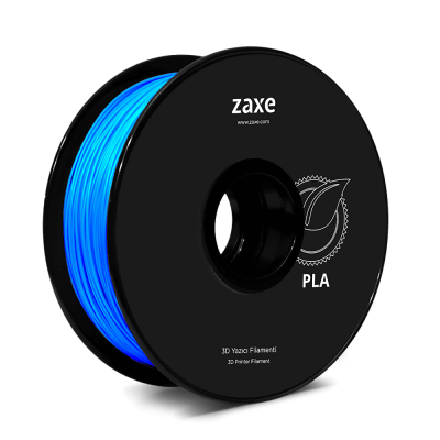 Zaxe Filament PLA Parlak Mavi