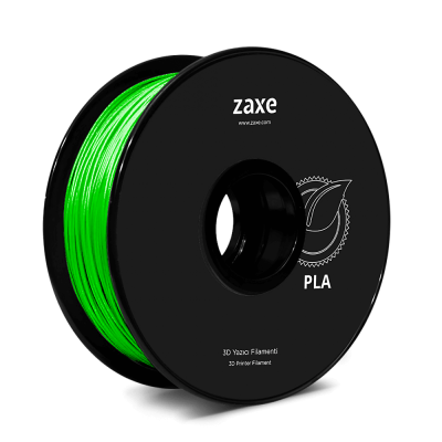 Zaxe Filament PLA Parlak Yeşil