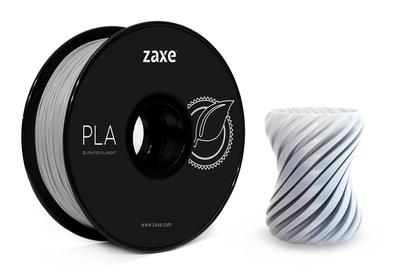 Zaxe Filament مادة طباعة 3D نوع PLA لون فضي