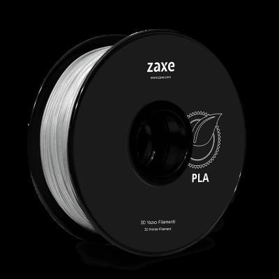 Zaxe Filament مادة طباعة 3D نوع PLA لون شفاف
