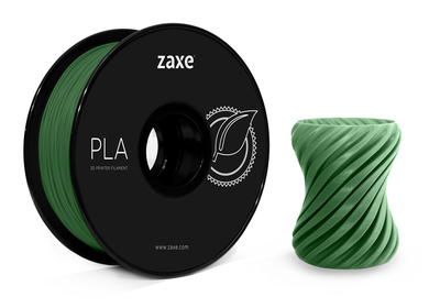 Zaxe PLA Filament Koyu Yeşil