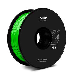 Zaxe - Zaxe PLA Filament Parlak Yeşil